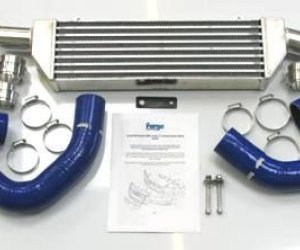 Twin intercooler kit